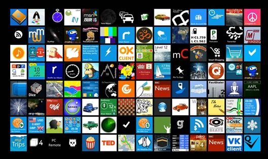 Live Tile Wall TechEd 2011